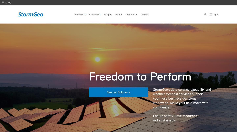 stormgeo homepage2